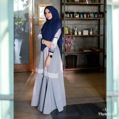 Casual Syari by Other Hijab Casual, Ootd Hijab, Baby Dolls, Layers, Jeans, Instagram, Fashion, Layering, Moda