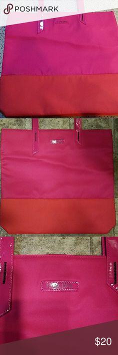 Lancome Large Flamingo Tote Like new condition Lancome Bags Totes