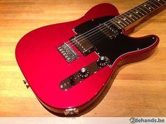 Fender 2010 Blacktop Telecaster in Candy Apple Red - Te koop
