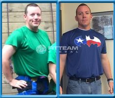"""""""I have seen the men in my family battle with type 2 diabetes and heart disease. When I reached my 30's I started to notice the physical and mental effects that my extra weight had on me. I told myself something had to change. I have worked on eating healthy and working out to lose, but my motivation has fluctuated. But since integrating FITTEAM FIT into my life I have lost weight and inches and am more motivated to eat healthy and continue with my fitness goals."""" -Kelsey"""