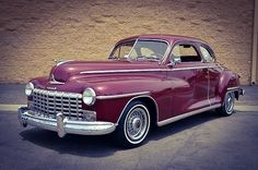 1947 Dodge Club Coup......outstanding...