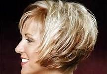 Short Layered Bob Hairstyles 2012 for round face back pics - Bing Images