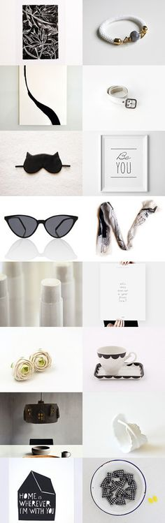Modern finds by Aleka and Georgia on Etsy--Pinned with TreasuryPin.com