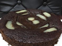 tarte cake choco poire de Christophe Felder