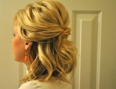 40 ways to do shoulder length hair. - Click image to find more Women's Fashion Pinterest pins