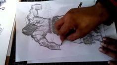 desenho realista - YouTube