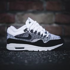 the latest 6fc9b 44cd7 Tendance Basket Femme 2017- Nike Air Max 1 Ultra Flyknit (843384-100)