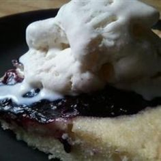 Blubaugh's Blueberry Buckle Shortcake - Click image to find more popular food & drink Pinterest pins
