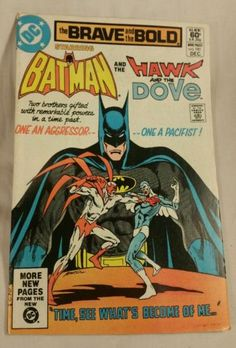 The #brave and the bold # 181 1981 #batman hawk and dove dc #comics,  View more on the LINK: http://www.zeppy.io/product/gb/2/222348182803/