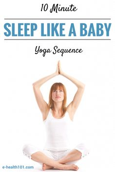 If you're someone that has problems falling asleep at night, or even someone that has issues staying asleep once you get there, you might want to give this yoga sequence a shot. You'll feel amazing – calm, relaxed, and ready for bed – by the time you're done!