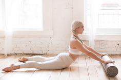 Perfect Posture / Heather Andersen, ADAY top, Outdoor Voices pants, New York Pilates / Garance Doré