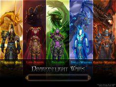 Aspects - Nozdormu, Alexstrasza, Ysera, Malygos and Neltharion (aka Deathwing)