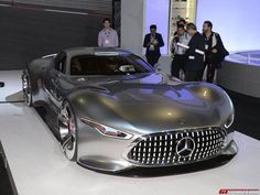 Mercedes Bens AMG Vision GT <3 How many likes for this amazing car?  See more: http://interestingengineering.com