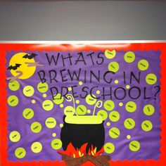 Bulletin Board Idea for Fall (Halloween)....I think this would be easy to adapt to business ed!!
