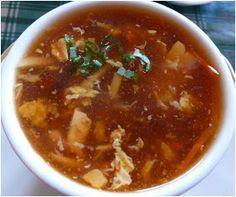 Chinese Food Recipes 中餐食谱: Hot and Sour Soup Recipe