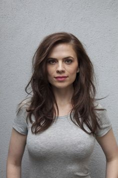 Hayley Atwell (love the haircut and it's not far off of what I have now.)