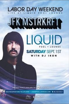 JFK Of MSTRKRFT Liquid Pool Lounge,  Las Vegas today for LDW 2012!
