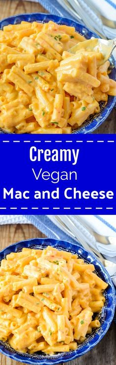 Creamy Vegan Mac and