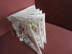 Encrustesd Fabricbook finished. | Flickr - Photo Sharing!