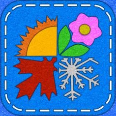 #AppyReview by Sharon Turriff @appymall Touch Learn Know - Weather. A very basic app which teaches your child about the seasons and weather. Tap on a season and the picture will change with the name written at the top. Tap on a weather picture and the weather changes with the name written at the top. I do like the learn section where your child can colour in images of the different seasons and the learning to trace words. They can trace