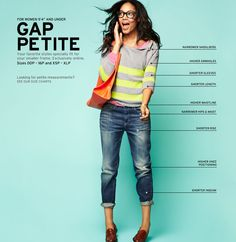 Gap  I can purchase these in store or online and not have one stitch of alteration!