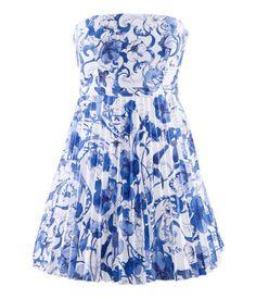 H & M Short, strapless dress