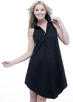 """Swing"" dress in black.  Trust us, you won't take this dress off all summer.  Finley Shirts Collection, Spring 2012 4/30 delivery.  Available at your favorite Finley retailer"