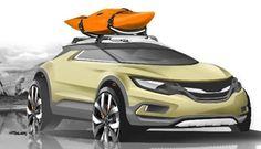 Future cars: Nevs Saab Sporty Urban Suv (compact suv).