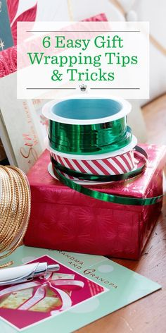 10 Gift-Wrapping Tips & Tricks: Video Tutorials   Learn how to wrap Christmas presents from the experts at Hallmark in our Giftology video series. From wrapping a box to making gift bows, our fun how-to videos will teach you how make your Christmas presents perfectly presentable!