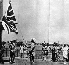 May 15, 1948 British Mandate ends -  British quit Palestine.