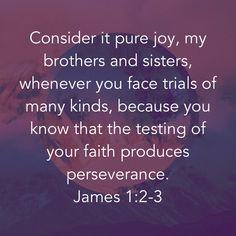 Bible Verses Quotes, Bible Scriptures, Faith Quotes, Wisdom Quotes, Mom Prayers, Bible Prayers, Consider It Pure Joy, Book Of James, Bubble Quotes