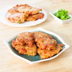 Greek Tomato Fritters | Domatokeftedes - Lemon & Olives | Greek Food & Culture Blog