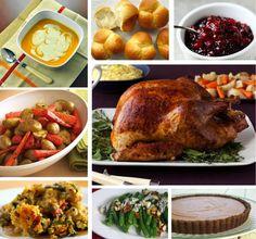 Beginner's Thanksgiving Menu
