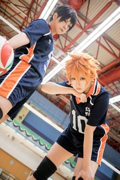 I just started watching this! I love playing vball and i love this anime!!!! Haikyuu is soo good