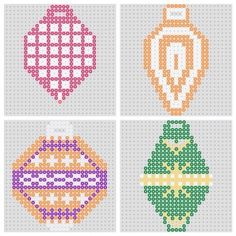 free beaded christmas patterns | BeadMerrily Hama Bead Designs - Free Hama Bead Patterns, Designs ...