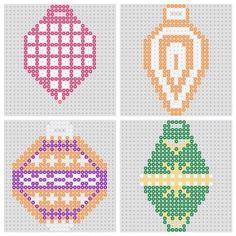 free beaded christmas patterns | BeadMerrily Hama Bead Designs - Free Hama Bead Patterns, Designs ...