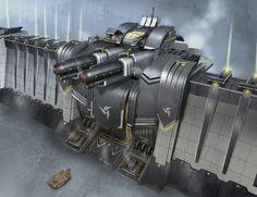 Acropolis Wall Gun by kianchai on DeviantArt