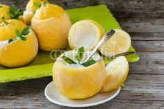 #Lemon #icecream #summer #food #fresh #sour #delight #desserts #ideas #homeandgarden #stockphoto #royaltyfree #Fotolia