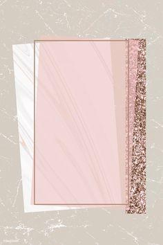 premium vector of Shimmering rectangle frame design vector about marble, background, beige, blank and bronze 894098 Framed Wallpaper, Pastel Wallpaper, Iphone Wallpaper, Sparkle Wallpaper, Fond Design, Web Design, Blog Design, Vector Design, Cadre Design