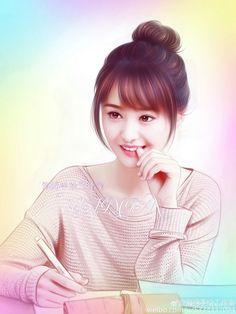 Cartoon Girl Images, Cute Cartoon Girl, Anime Girl Cute, Anime Art Girl, Cute Girl Poses, Cute Girl Photo, Beautiful Girl Image, Beautiful Anime Girl, Cute Girl Hd Wallpaper