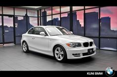 ONE OF A KIND! 2011 Certified Pre-Owned 1-Series 128i Coupe only $22,000.  View vehicle details at http://www.kunibmw.com/certified/BMW/2011-BMW-1+Series-8b6fe5100a0a00de21eb3ba6ea5a5008.htm. #BMW #1Series #128i