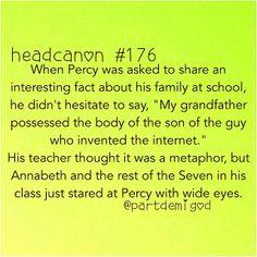 Ah, Percy. :D