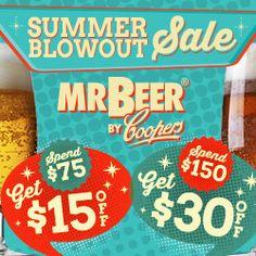 Beer is running a Summer Blowout sale Extended Home Brewery, Summer Sale, Joseph, Beer, September 1, Money Savers, Hobbies, Articles, Running