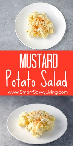 Mustard Potato Salad Recipe - This easy potato salad recipe is a great side dish for a ham dinner and all those cookouts.