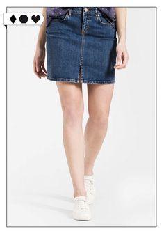 Marnie Jeansrock (Armedangels): Super Jeansrock für warme Sommertage. 97% Organic Cotton, 3% Elasthan aus der Türkei. GOTS zertifiziert. VEGAN/ECO/SOCIAL/*79,90€* → Sloris ist ein Slow Fashion Blog. Noch mehr Faire Mode gibt's auf dem hamburger Modeblog. Sloris – Slow down and Fashion up!