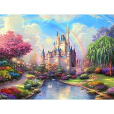 Disney Princess Dance 5D Full Diamond Painting Embroidery Cross Stitch Kit DS