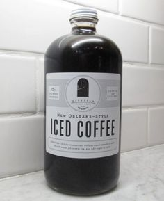 Cold-Brewed Coffee Concentrate.  So good for the Warm Months. Yummy.