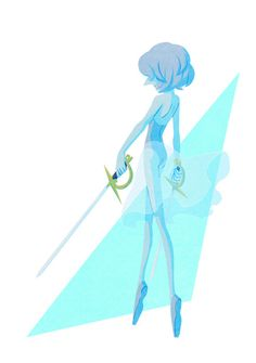 See more 'Steven Universe' images on Know Your Meme! Universe Images, Universe Art, Pearl Fanart, Perla Steven Universe, Steven Universe Characters, Pearl Steven, Cute Anime Coupes, Bear Wallpaper, Blue Pearl