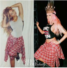 Beyonce vs Nicki Minaj