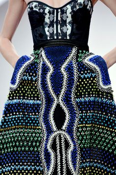 peter pilotto spring 2013.  Mixed prints, color scheme